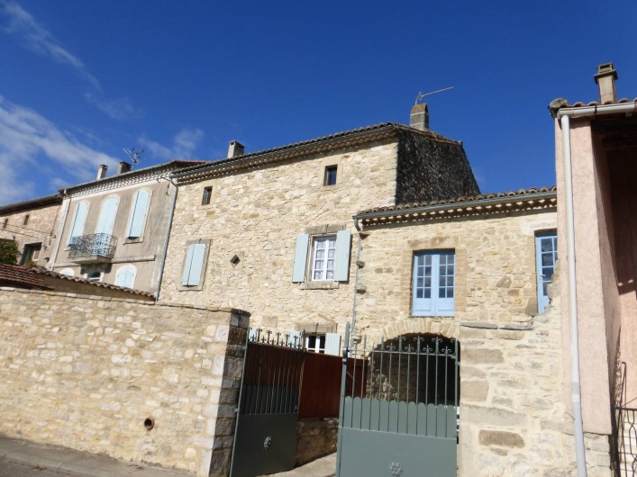 Location de vacances - Mas à Saint-Maurice-de-Cazevieille - Façade