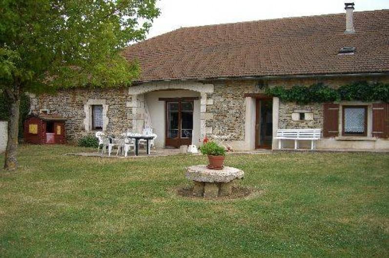 Location de vacances - Gîte à Saint-Pantaly-d'Ans - Maison de caractère