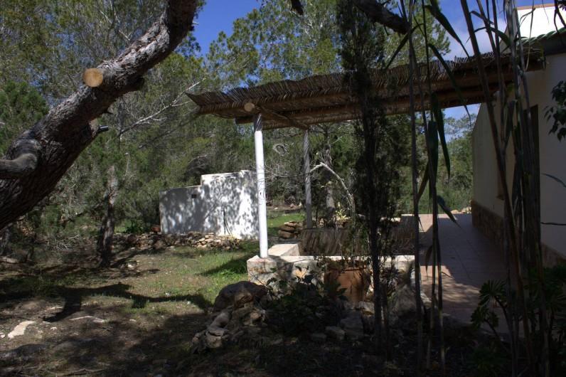 Location de vacances - Villa à Cap de Barbaria - Independent Annex terrace