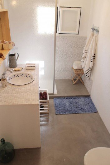 Location de vacances - Villa à Cap de Barbaria - Salle de douche en suite