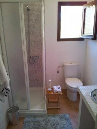 Location de vacances - Villa à Cap de Barbaria - Salle de douche n.2 (for bedrooms n.2-3-4