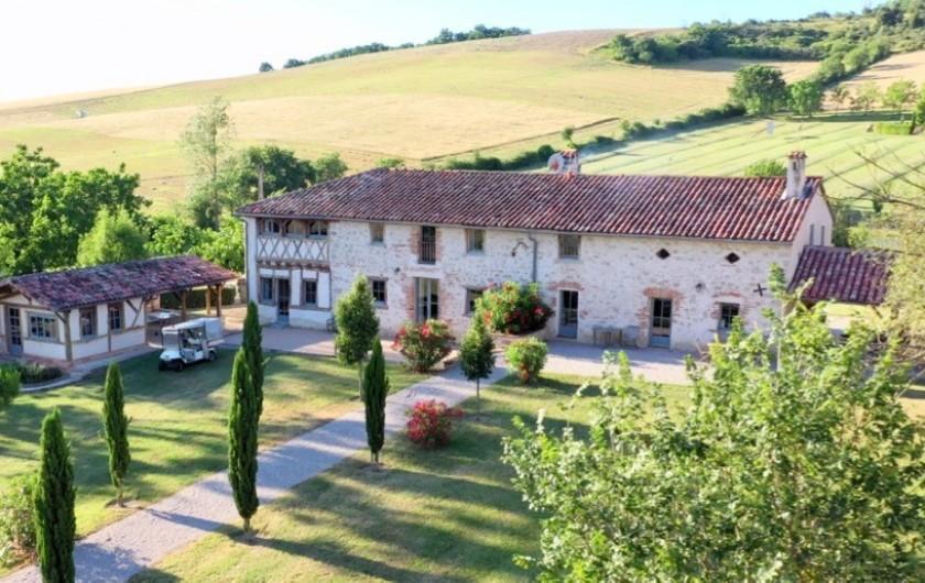 Location de vacances - Maison - Villa à Marzens - gite de Ségur: un havre de paix