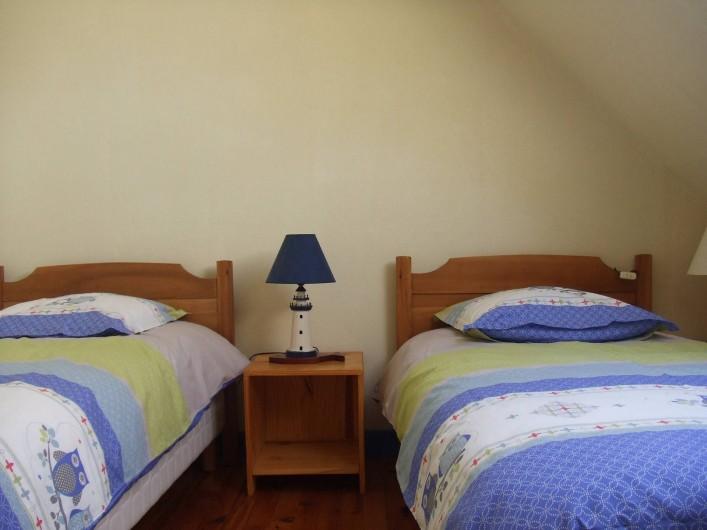 Location de vacances - Villa à Perros-Guirec - Chambre - deux personnes à l'étage