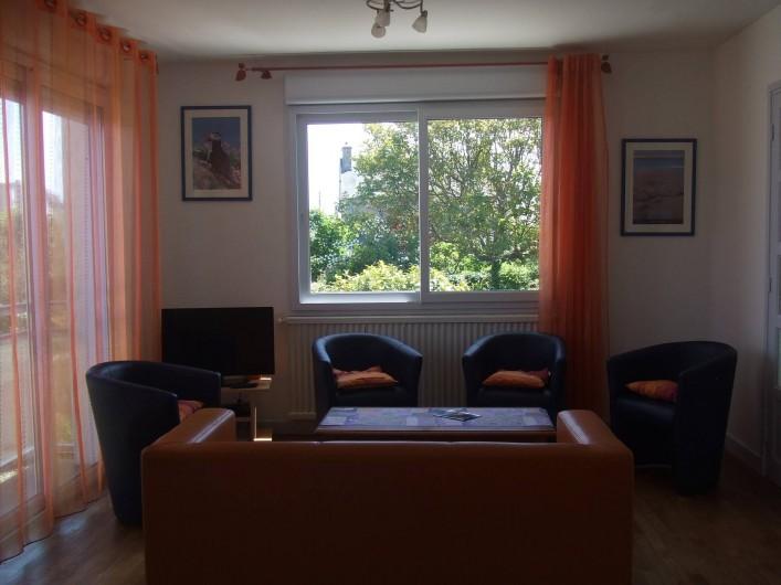 Location de vacances - Villa à Perros-Guirec - Salon