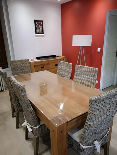 Location de vacances - Appartement à Gérardmer - SALLE A MANGER