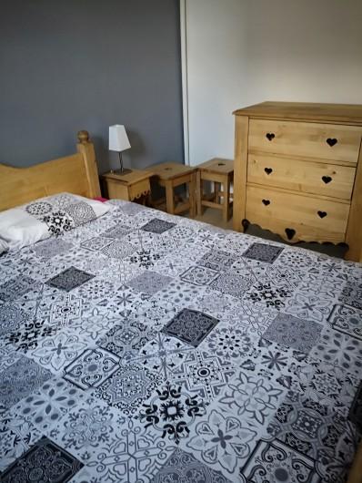 Location de vacances - Appartement à Gérardmer - CHAMBRE BLANCHE