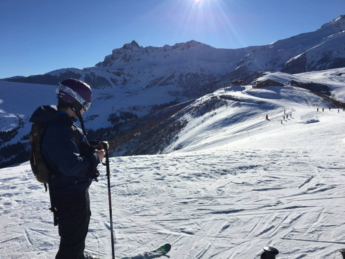 Location de vacances - Chalet à Les Avanchers-Valmorel - 210 km de pistes sur les 2 sites