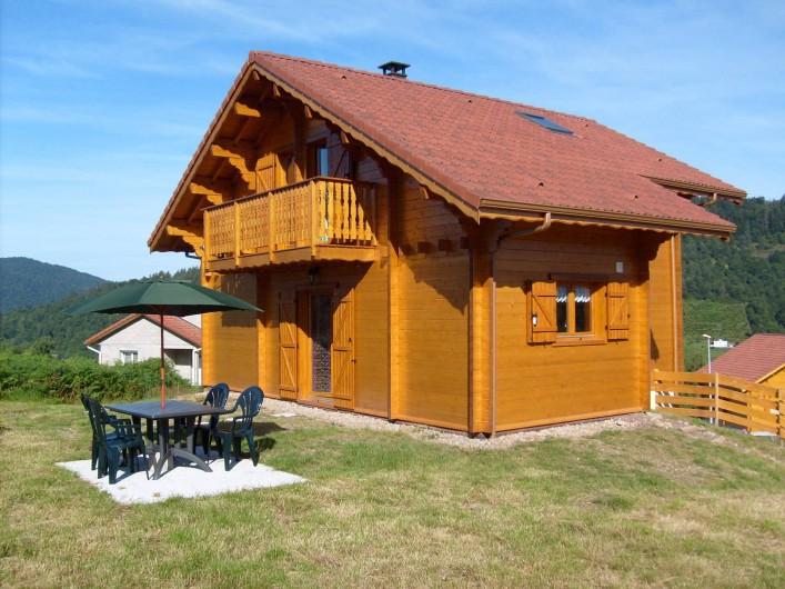 Location de vacances - Chalet à Saint-Maurice-sur-Moselle - Terrasse