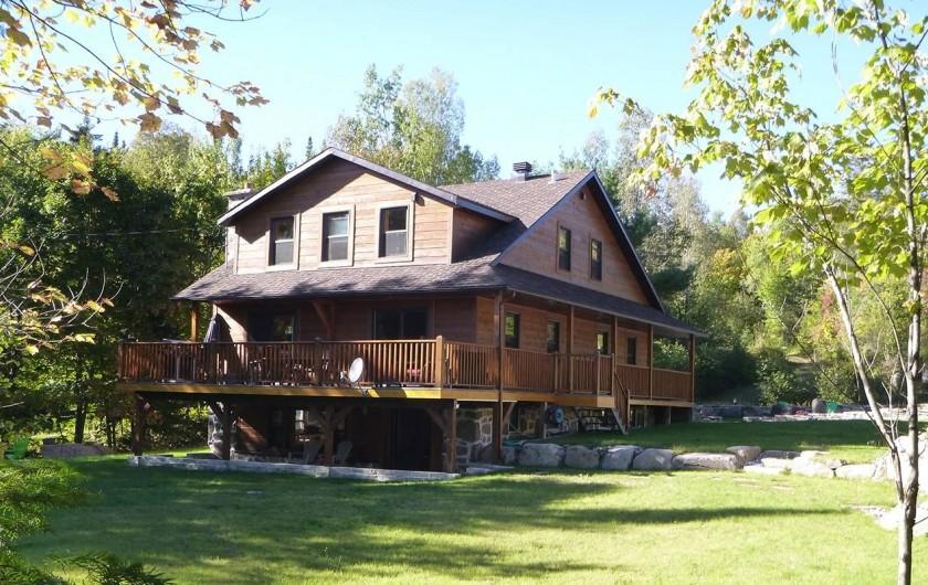 Location de vacances - Chalet à Val-David - Domaine BONHEURA