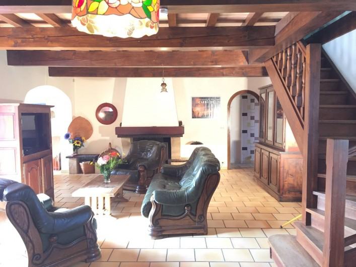 Location de vacances - Villa à Cruas - Le Salon