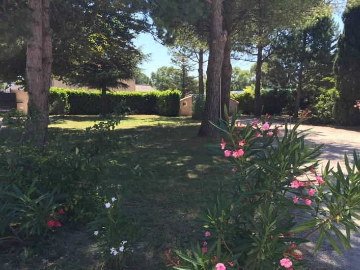 Location de vacances - Villa à Cruas - Parc