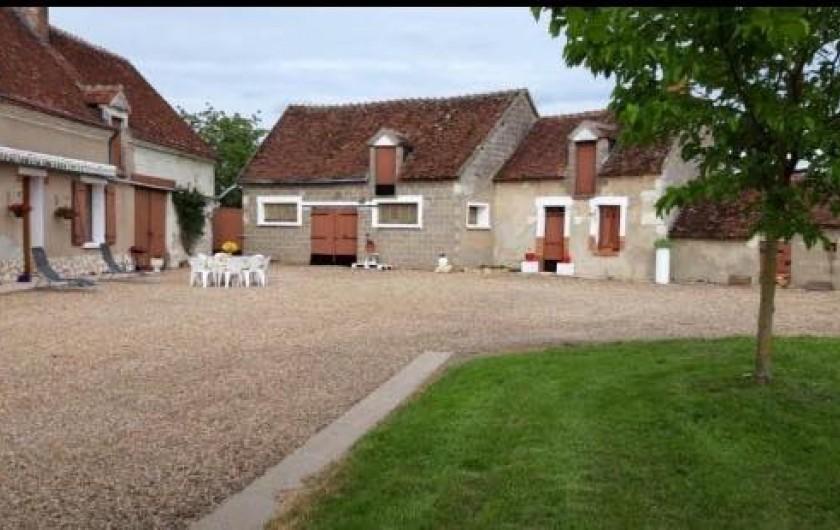 Location de vacances - Gîte à Angé - Cour close