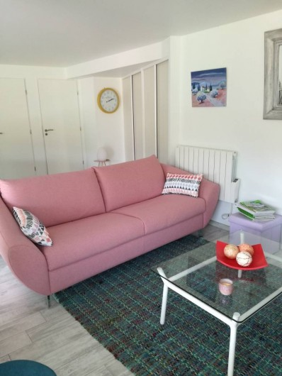 Location de vacances - Appartement à Le Lavandou - Salon