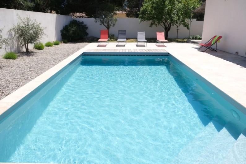 Location de vacances - Villa à Aureille - Privée piscine