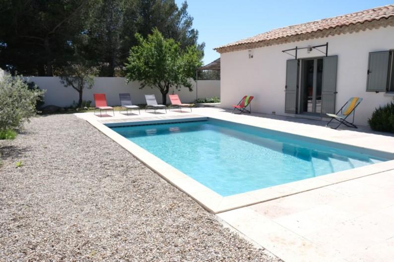 Location de vacances - Villa à Aureille - Piscine privée
