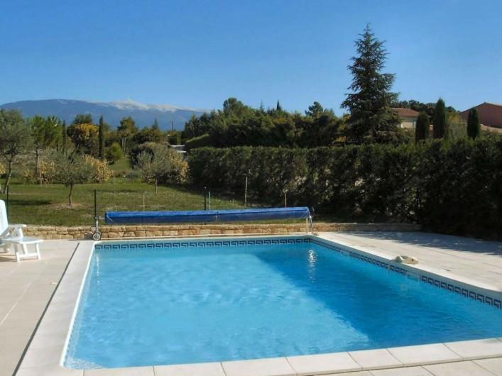 Location de vacances - Villa à Mormoiron - Piscine