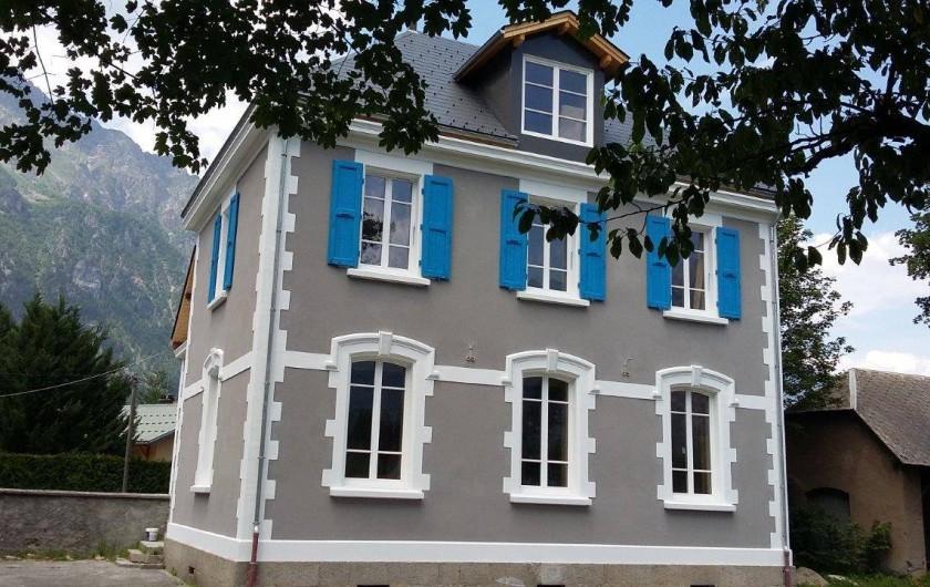 Location de vacances - Maison - Villa à Le Bourg-d'Oisans - Le bâtiment est compris de 2 appartements