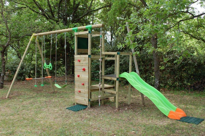 Location de vacances - Villa à Bargemon - Portique pour enfant jusqu'à 50 kg.