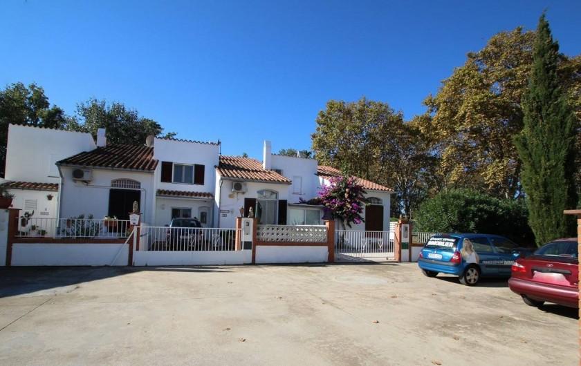 Location de vacances - Villa à Empuriabrava - Parking