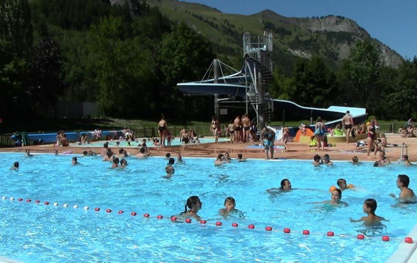 Location de vacances - Appartement à Valloire - La piscine au village (cfr e-PASS 5€/j/p très avantageux!)