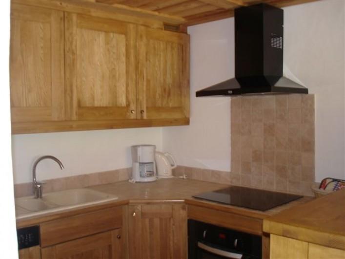 Location de vacances - Appartement à Valloire - Cuisine équipée, four, LV, micro-ondes, bouilloire électrique, grill-pain,