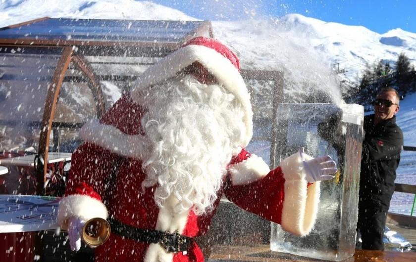 Location de vacances - Appartement à Valloire - A Valloire, le Père-Noël chausse ses skis!  :)