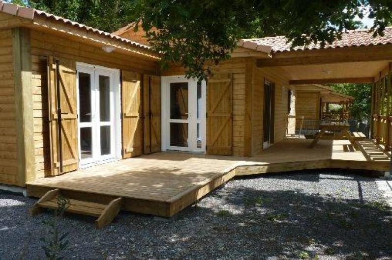 Location de vacances - Chalet à Saint-Alban-Auriolles - Location de vacances, chalet Sud Ardèche Rev'o Thijol