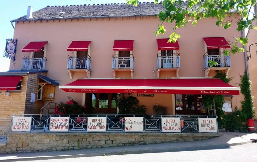 Location de vacances - Chambre d'hôtes à Saint-Étienne-du-Valdonnez - Auberge du Bramont St Etienne du Valdonnez 48