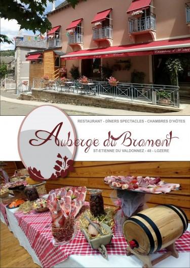 Location de vacances - Chambre d'hôtes à Saint-Étienne-du-Valdonnez - Restaurant, spectacles, Chambre à l'Auberge du Bramont en Lozère