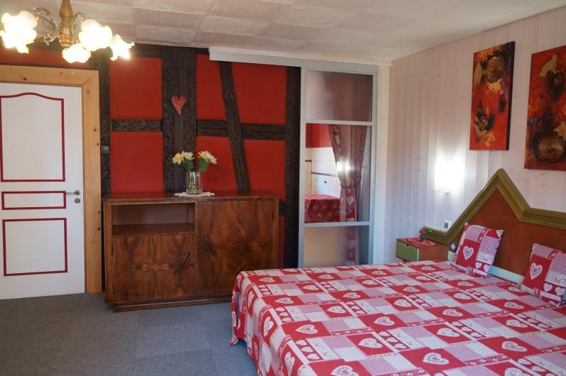 Location de vacances - Gîte à Ribeauville - Lit King Size neuf (200×190)