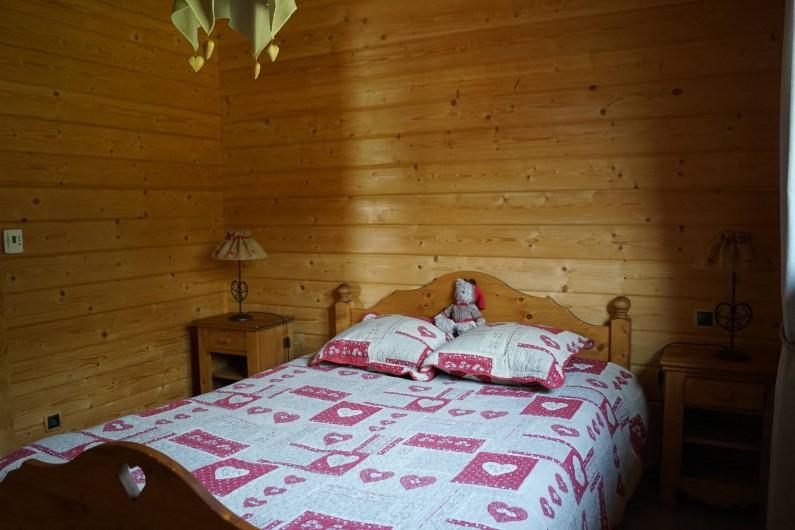 Location de vacances - Chalet à Basse-sur-le-Rupt - Chambre rez-de-chaussée avec lit de 2 personne, 1 armoire