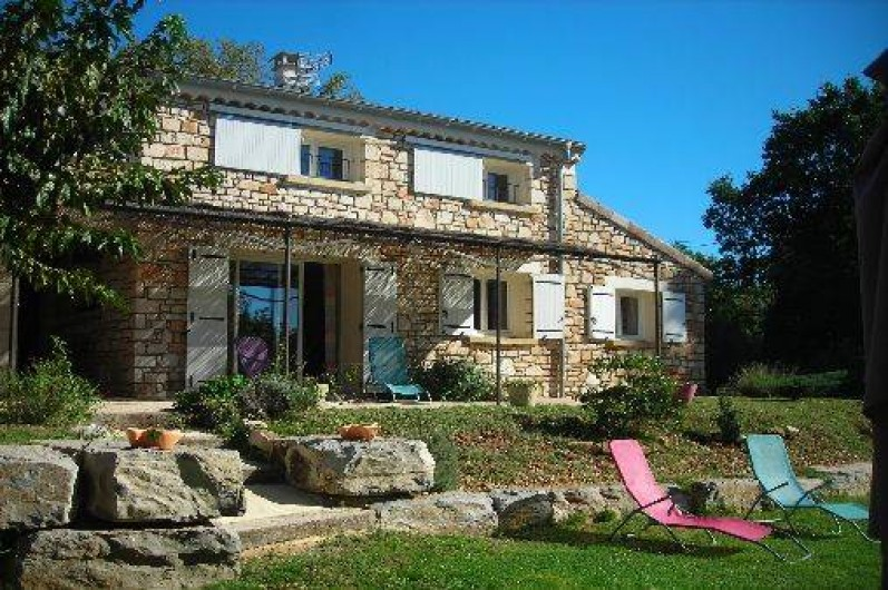 Location de vacances - Villa à Vallon-Pont-d'Arc