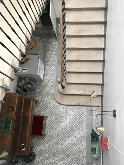Location de vacances - Chambre d'hôtes à Frontignan - Vue escalier