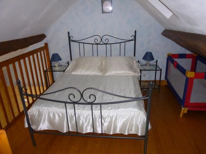 Location de vacances - Gîte à Auriac-du-Périgord - Chambre mezzanine  Studio
