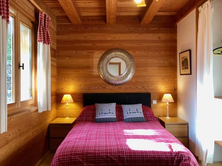 Location de vacances - Chalet à Vallouise - Ground floor double bedroom