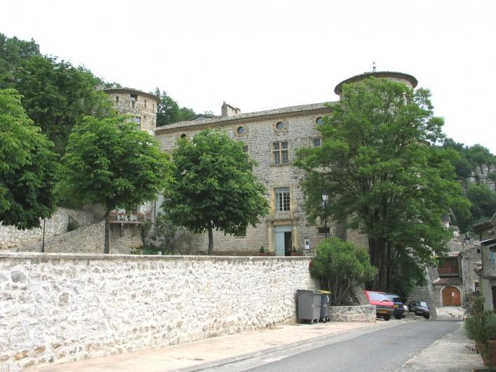 Location de vacances - Gîte à Vogüé - Le Château de VOGÜÉ