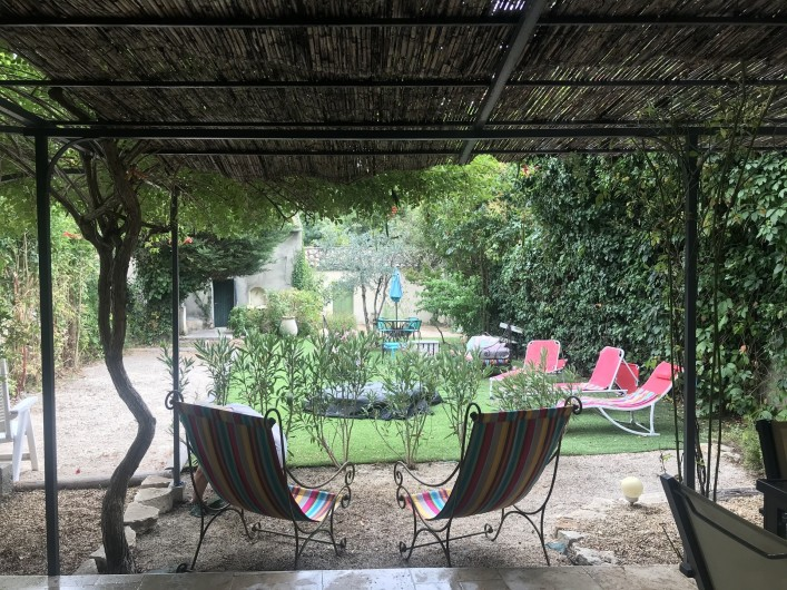 Location de vacances - Gîte à Buis-les-Baronnies - jardin