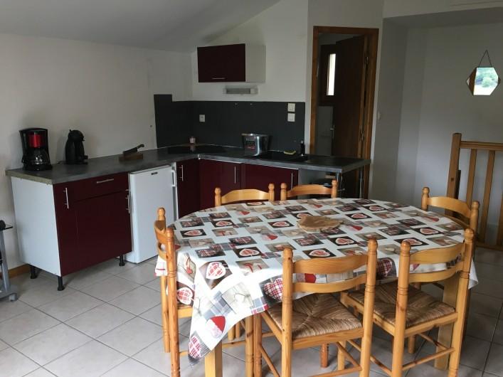 Location de vacances - Chalet à La Bresse - cuisine équipée