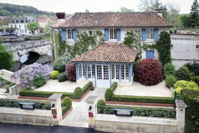 Location de vacances - Hôtel - Auberge à Brantôme - Entrée Moulin