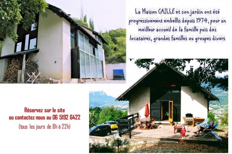 Location de vacances - Villa à Embrun - Nos coordonnées; n'hésitez pas à nous contacter !
