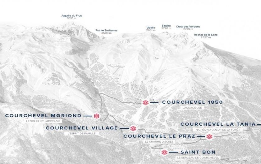 Location de vacances - Appartement à Courchevel 1650 (Moriond) - Vallée de Courchevel