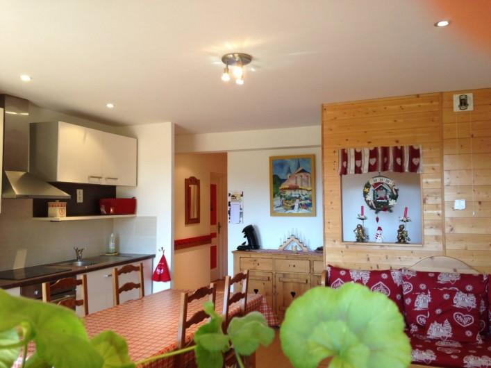 Location de vacances - Appartement à Gérardmer - Cuisine tout équipée - lave-vaisselle, Nespresso.