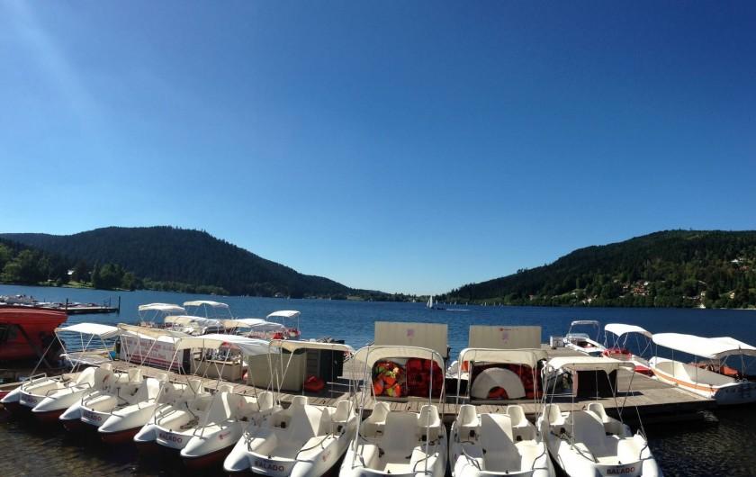Location de vacances - Appartement à Gérardmer - Lac de Gérardmer en été