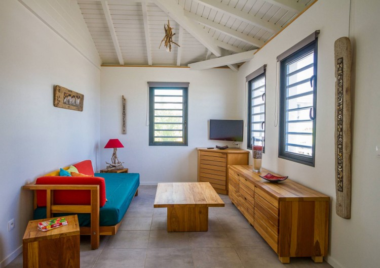 Location de vacances - Villa à Sainte-Anne - Iguane House Villas & Micro Spa Villa Passion salon