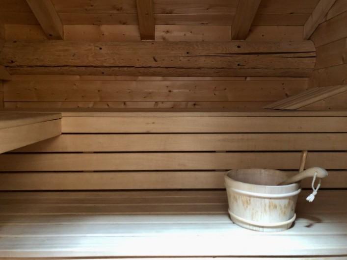 Location de vacances - Chalet à La Bresse - Sauna