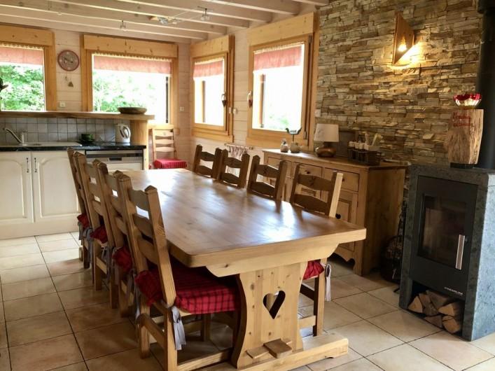 Location de vacances - Chalet à La Bresse - Espace repas
