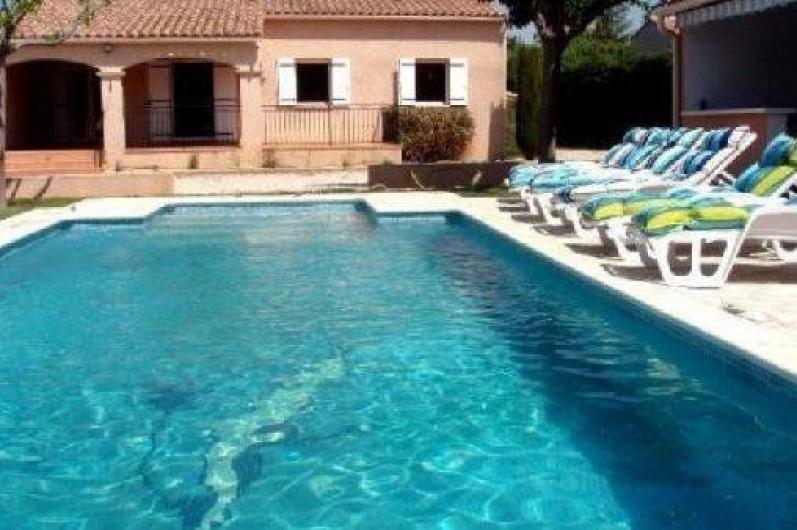 Location de vacances - Villa à Camaret-sur-Aigues