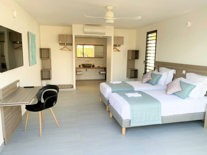 Location de vacances - Villa à Sainte-Anne - Suite 5 (accès mobilité réduite)