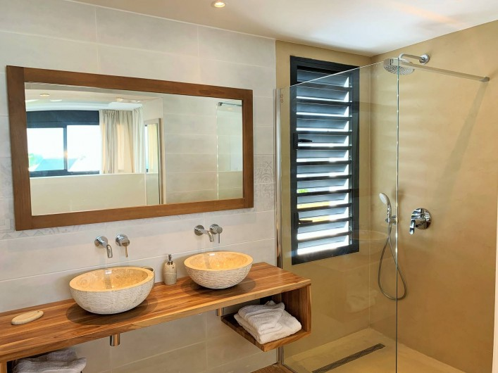 Location de vacances - Villa à Sainte-Anne - Suite 2 salle d'eau