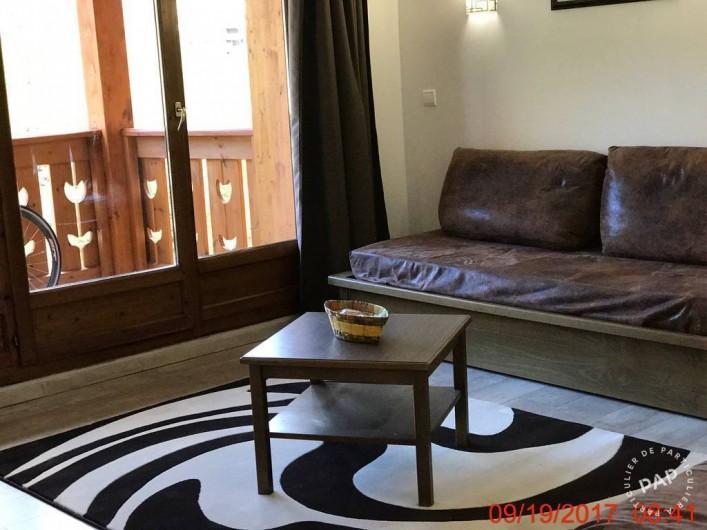 Location de vacances - Appartement à Les Claux - Salon avec les 2  banquettes lit séparée